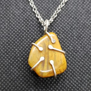 Yellow Jasper Pendant 1